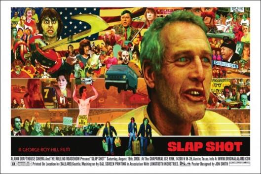 Slap shot the movie poster