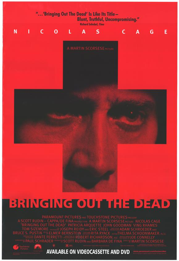 Streamer of the Week – Martin Scorsese's Bringing Out the Dead | Spirit of  the Thing