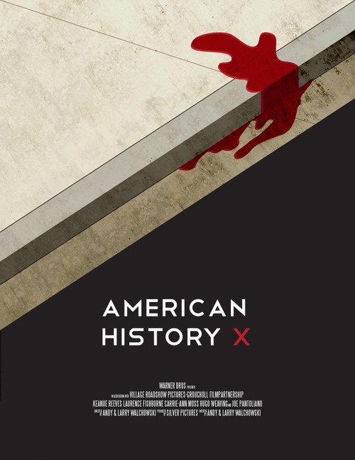 American History X alt poster