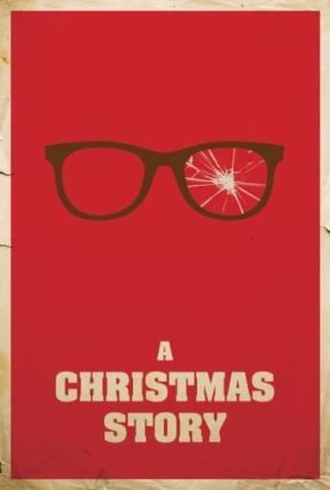 christmas story poster - glasses