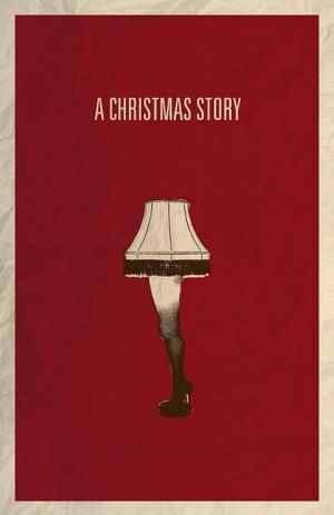 christmas story poster - leg lamp