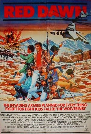 red_dawn 84 poster