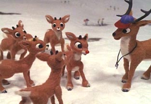 Rudolph, surrounded by ignorance.