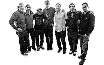 Here are the guys now: Stacy Peralta, Rodney Mullen, Steve Caballero, Tony Hawk, Mike McGill, Lance Mountain and Tommy Guerrero.