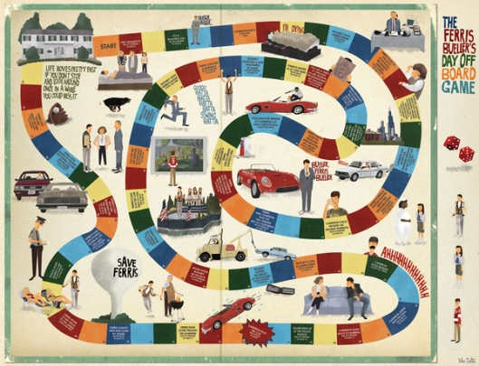 ferris board game - maxim dalton