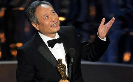 Ang Lee after he crouching tiger-ed Steven Spielberg for the Best Director win.