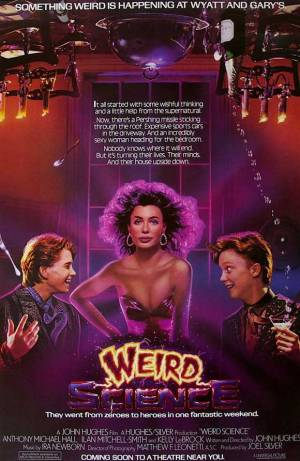 weird science - poster