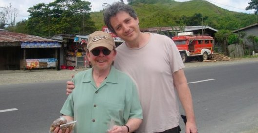 Williams and Kessler on tour in the Philippines.