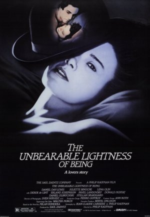 ddl unbearable lightness of being poster