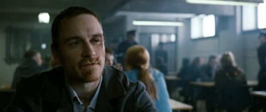 Michael Fassbender as bobby Sands.
