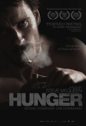 Hunger movie poster Steve McQueen