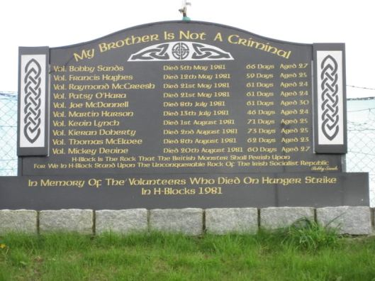 Hunger Strike Memorial - County Armagh