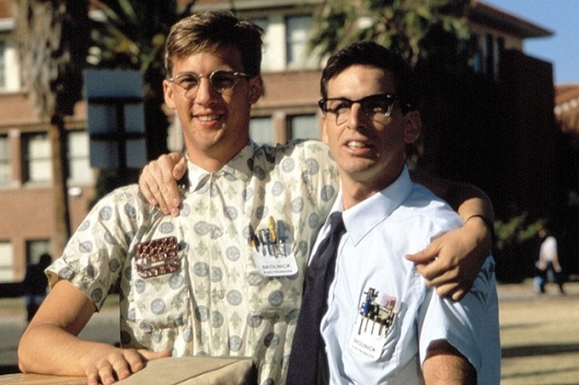 revenge of the nerds - louis and gilbert