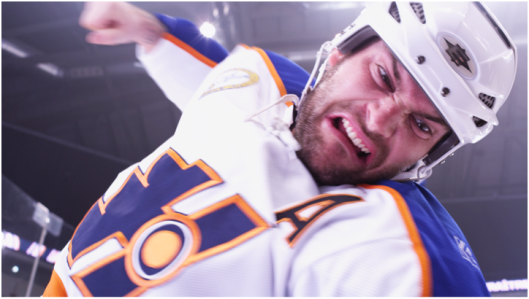 Meet Doug Glatt's fist.