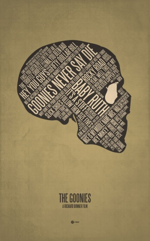 Goonies movie poster 3