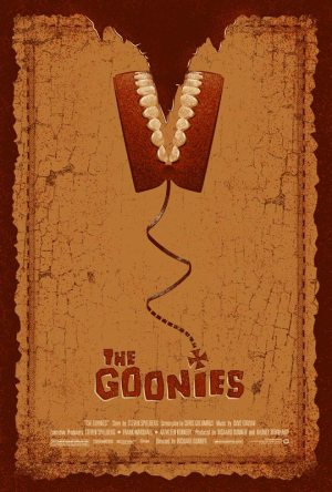 goonies movie poster - adam rabelais