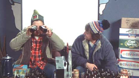 This movie was shot in 3B: three beers and it looks good.