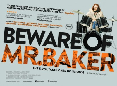 beware of mr baker - poster