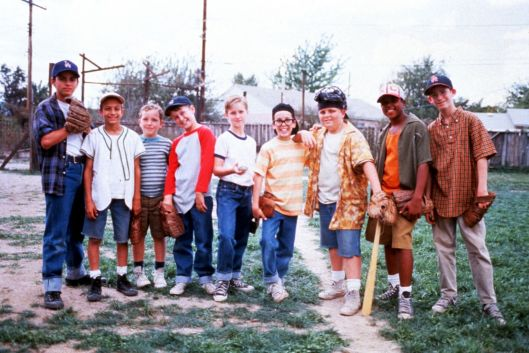 The team: Benny, Yeah-Yeah, Tommy and Timmy Timmons, Smalls, Squints, Ham, Kenny Denunez and Bertram.