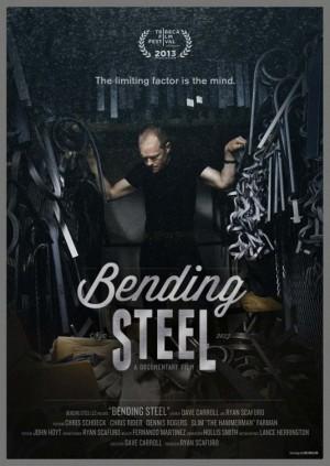 bending steel - poster