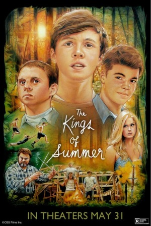 kings of summer - poster 1