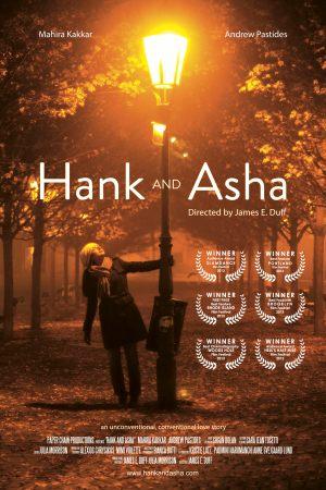 hank and asha - poster