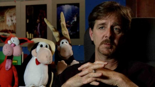 Berke Breathed, creator of Bloom County and Outland, and big fan of Calvin and Hobbes.