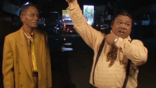Anwar Congo (left) and Herman Koto (right)