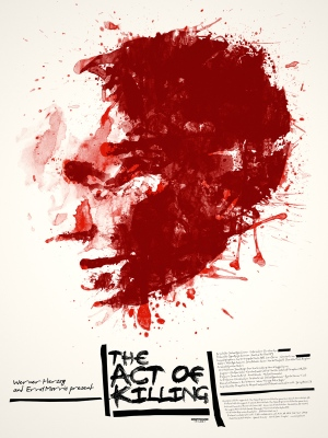 act of killing - poster