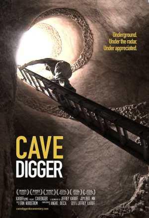 oscar shorts - cavedigger poster