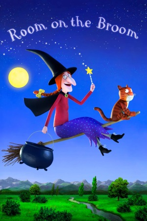 oscar shorts room on the broom poster