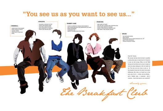 breakfast club - poster