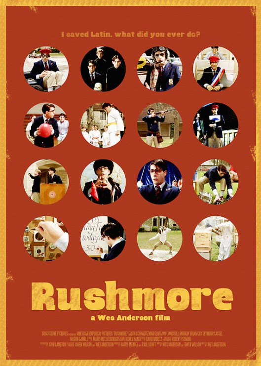 rushmore - poster 2