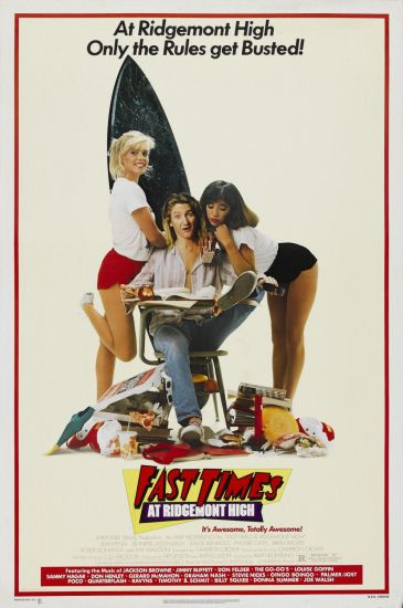 fast times - poster