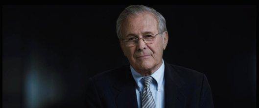 Rumsfeld, the stoic.