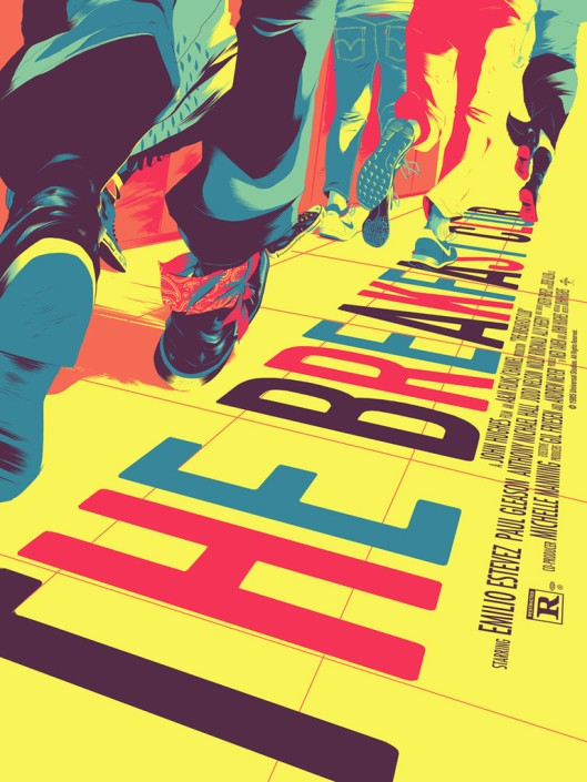 Breakfast Club poster mondo variant