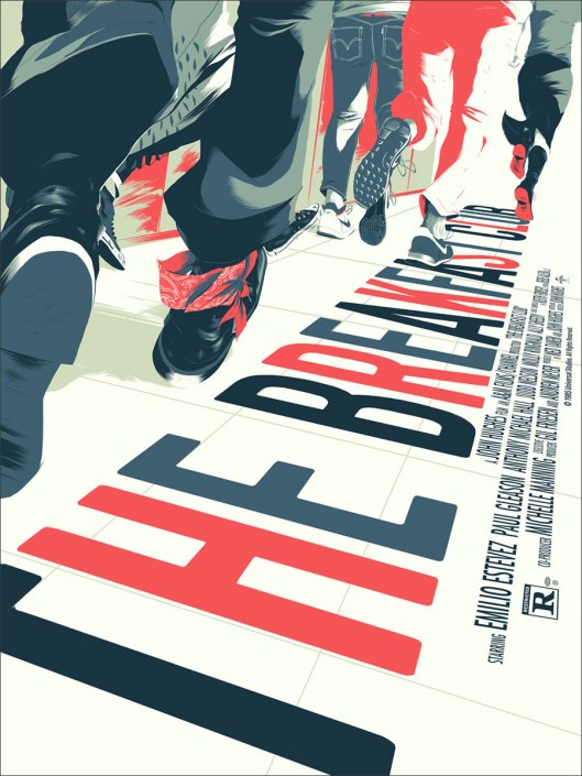 Breakfast Club poster mondo